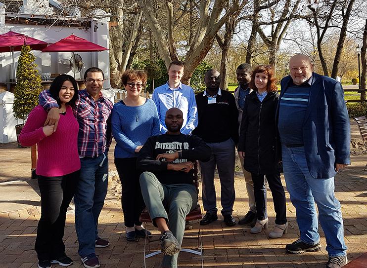 VLab Workshop in Stellenbosch University, South Africa